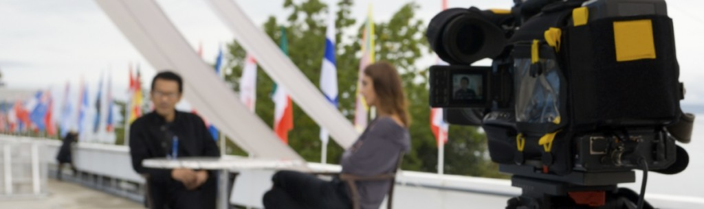 Explainer video recording