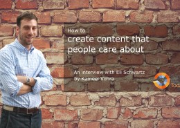 Creating content people care about
