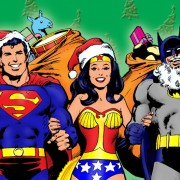Classic DC Heroes Christmas
