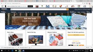 Amazon Consumer Website